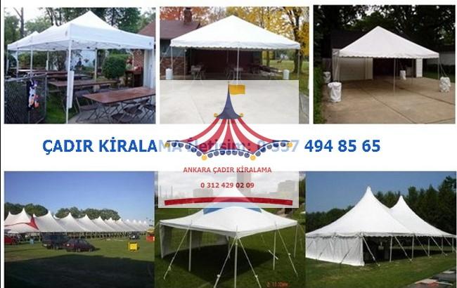 ankara çadır kiralama fiyatları
