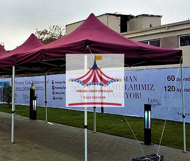 ankara 3 3 metre çadır kiralama 9 metrekare fiyatları