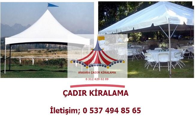 ankara etkinlik fuar organizasyon çadırı kiralama kiralık çadır fiyatları