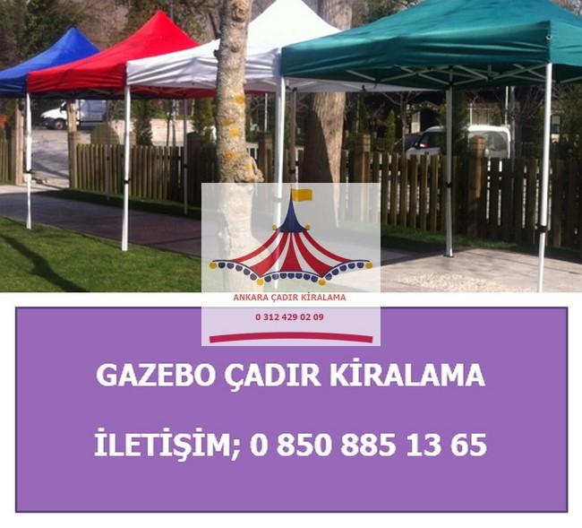 ankara gazebo çadır kiralama kolay açılır fiyatları