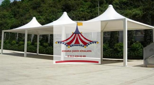 ankara gazebo çadır tente kiralama fiyatları