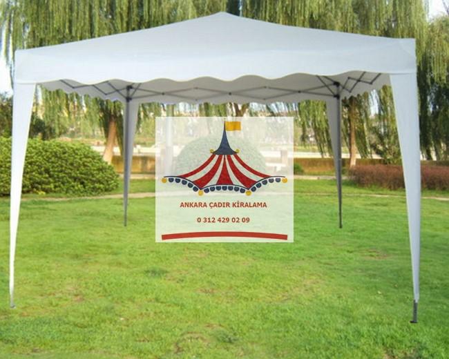 ankara katlanabilir gazebo çadır kiralama fiyatları