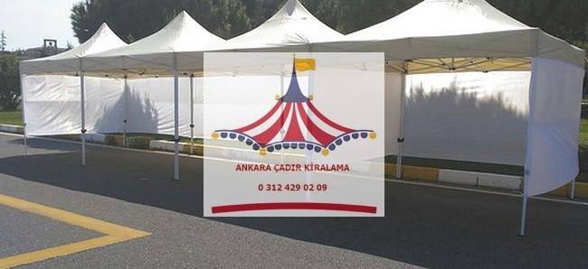 ankara yanları kapalı çadır gölgelik kiralama fiyatları
